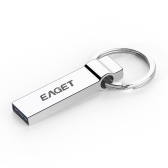 EAGET U90 32GB Tablet PC USB 3.0 Portable Storage Memory Full Metal Flash Pen Drive Encryption Waterproof with Key Ring