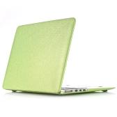 """Snap-on Shell pele protetora Ultra magro peso leve de tampa de couro padrão seda caso difícil para Apple Macbook Pro de 13 polegadas 13,3"""" com Retina Display"""