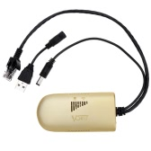 Vonets VAP11G-500 Mini High-Power Wireless Outdoor CPE WiFi Repeater 300Mbps Wireless Bridge Adapter with Retail Box Distance 500 Meters for PC Camera TV