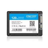 """OSCOO SATA III 6Gb / s 2.5 """"/ 7mm Unidade de estado sólido interno SATA3 SSD para PC Laptop Desktop"""