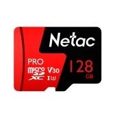 Netac P500 PRO klasa 10 128 GB Micro SDXC TF Karta pamięci Szybkie przechowywanie danych 98MB / s V30 / UHS-I U3