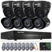 OWSOO 16CH Full CIF 800TVL CCTV Vigilância DVR Sistema de Segurança