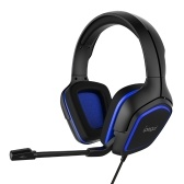 iPega PG-R006 Gaming Headset Surround Sound Headset with High Sensitive Microphone for PC Switch PS4 CellPhone Black+Blue