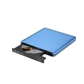 Portable USB3.0 Interface Drive Super Slim External DVD-RW/CD Drive Writer Rewriter CD Burner Blu-Ray Disc For High Speed Data Transfer