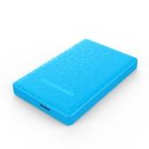 "Portable Super Slim Tool-Free 2.5"" SATA to USB External Hard Drive Enclosure Hard-disk Case High Speed USB 3.0 SATA Hard Disk Drive Box with USB Cable for 9.5mm 7mm 2.5"" SATA HDD/SSD"