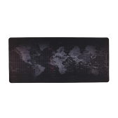 World Map Pattern Gaming Mouse Pad Non-slip Rubber Base Large Desk Pad Table Mat Extended Mouse Mat