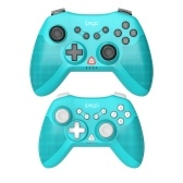 IPEGA Game Controller Parent-child Edition Wireless Vibrating Six Axis Gamepad for N-S Console/P3/Android/PC(Win7/8/10) Blue