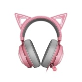 Razer Kraken Kitty Gaming Headset TNX 7.1 Surround Sound Headset with Active Noise Reduction Microphone 50mm Driver Unit Quartz