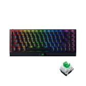 Razer BlackWidow V3 Mini HyperSpeed Wireless Keyboard 68 Keys RGB Mechanical Keyboard Support 3 Connection Modes Green Switch