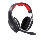 HW-N9U Wireless-Gaming-Headset Optischer 2,4-GHz-Gaming-Kopfhörer Virtueller 7.1-Kanal-Surround-Gaming-Headset für PS4 / PC / Mac