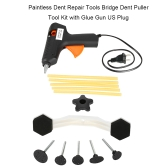 Paintless Dent Repair Tools Ponte Dent Puller Tool Kit com cola Gun
