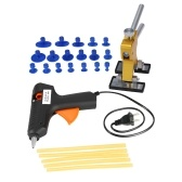 Car Body Paintless Repair Puller + 18 Tabs + Glue Gun + 5pcs Glue Sticks