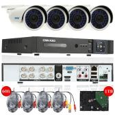 OWSOO 8ch Kanal Full 1080 N / 720 P 1500TVL AHD DVR Sicherheitssystem