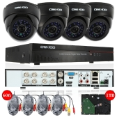 OWSOO 8ch Channel 800TVL CCTV Surveillance DVR Security System