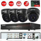 OWSOO 8ch Channel 800TVL CCTV Surveillance DVR Security System
