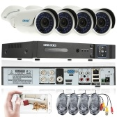OWSOO 4CH Channel Full AHD 1080N/720P 1500TVL CCTV Surveillance DVR Security System