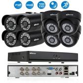 KKmoon® 8CH Kanal Full 960H / D1 800TVL CCTV Überwachung DVR Sicherheitssystem