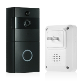 1 * 720P WiFi Visuelle Gegensprechanlage Tür Telefon + 1 * Wireless Türklingel Chime