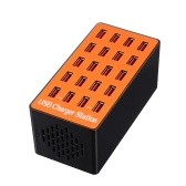 100W 20-Port USB Wall Charger Adapter Smart Charging Station