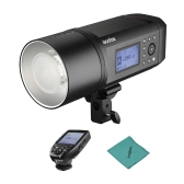 Godox AD600Pro 600Ws TTL GN87 1/8000s HSS Outdoor Flash Strobe Light + 28.8V/2600mAh Rechargeable Lithium Battery + Xpro-N Flash Trigger for Nikon Series Camera