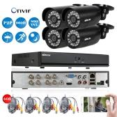 KKmoon 8CH 960H D1 Kugel CCTV Kameras System