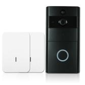 1*720P WiFi Visual Intercom Door Phone+2*Wireless Doorbell Chime