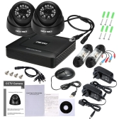 OWSOO 4CH 1080P Гибридная DVR система видеонаблюдения