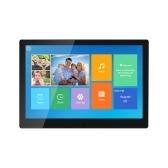10,1 Zoll digitaler Fotorahmen Cloud Elektronisches Fotoalbum Touchscreen-Unterstützung APP-Fotoübertragung 16 GB Speicher Schwarz EU-Stecker