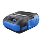BT + USB Etichettatrice per stampante termica per abbigliamento Stampante per ricevute al dettaglio Max 90 mm / s 10-80 mm Larghezza carta Smart APP Editing Spina europea