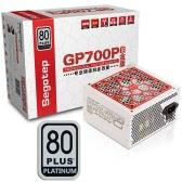 Segotep 600W GP700P ATX Komputer Zasilacz Komputer Pulpit 80Plus Platinum PSU Aktywny PFC DC-DC 94% Sprawność Uniwersalny Wejście AC 100-240V