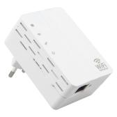 WD-R607U 300Mbps Repetidor Wi-Fi Wireless Range Extender Signal Booster Amplifier Plugue de parede montado nos EUA