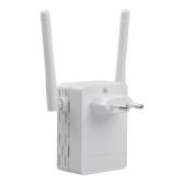 Extensor de Roteador WiFi 300 Mbps Portátil Multi-função de Alta Flexibilidade Sinal Repetidor de Rede Sem Fio Impulsionador (Plugue E)