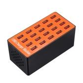 Estação de carregamento esperta do adaptador do carregador da parede de 100W USB 20-Port