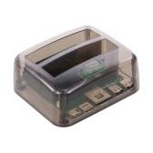 Hard Drive Docking Station USB 3.0 a 2.5 / 3.5inch SATA Hard Disk Case Dual Bay HDD SSD Installazione rapida senza attrezzi