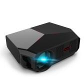 Transjee A4300 Proiettore 3800 lumen 1280 * 720P Supporto risoluzione nativa 23 lingue per videoproiettore home theater