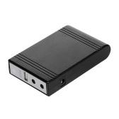 WGP103 Mini DC UPS Wonderful Green Power Multi-Output UPS Uninterruptible Power Supply DC Power Bank 5V-9V-12V Black