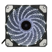 120mm 15 Lights 4 Colors LED Silent PC Computer Chassis Fan Case Cooler Cooling Quiet Heatsink DC 12V