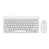 FUDE IK6620 Ultra Slim 2.4G Bezprzewodowa mysz klawiatura
