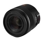 YONGNUO YN25mm F1.7M Kamera Festbrennweite Auto/Manueller Fokus Große Blende Micro 4/3 Mount Ersatz für Panasonic G100/GH5/G9/G95/G85/GX9/GX85/GF10/GF9 für Olympus E-M5 II III/E-M10 III IV/ PEN-F/ E-PL9/ E-PL10 Kameras