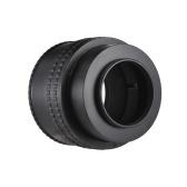 Andoer M52-M42 (17-31) 17mm-31mm M52 auf M42 Mount Kamera Objektiv Adapterring Makro Verlängerungsrohr Helicoid Objektiv Fokussieradapterring für Makrofotografie