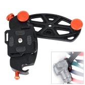 Quick Release Camera Waistband Waist Belt Strap Mount Button Buckle Hanger Holder for Canon Nikon Sony Pentax DSLR