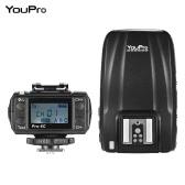 YouPro Pro-6C 2.4G E-TTL 1 / 8000S HSS flash Transmisor Receptor Transmisor disparador para Canon EOS 7D2 5D3 5DR 5P 70D 80D 760D 750D 700D 6D 650D 600D 550D Rebel T2i T3i T4i T5i T6i T6S DSLR cámara DSLR