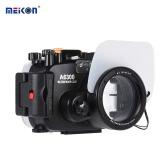 MEIKON SY-22 40メートル/ソニーA6300のための130フィート水中防水カメラハウジングブラック防水カメラケース