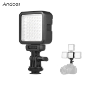 Andoer W49S Mini Dimmable Interlock LED Video Light Fill Light