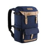 K & F CONCEPT Digital DSLR Camera Bag mochila de viaje bolsa de hombro a prueba de golpes a prueba de agua para Canon Nikon Sony fotografía al aire libre