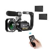Videocamera digitale con videocamera WiFi ORDRO AC3 4K