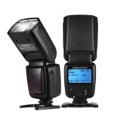 Universal Wireless Camera Flash Light Speedlite GN33 LCD Display for Canon Nikon Sony Olympus Pentax DSLR Cameras
