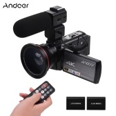 Andoer HDV-AE8 4K WiFi Digital Video Camera Camcorder DV Recorder