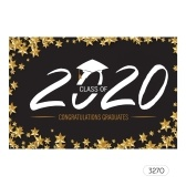 Toile de fond professionnelle 7 * 5ft Le fond de photographie de remise des diplômes de la classe de 2020