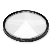Kamerafilter Fotografie Vordergrund Unschärfe Film Fotografie Requisiten 77mm Glas Pentaprism Filter Kamera Zubehör